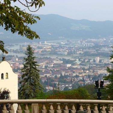 Une vue de Linz