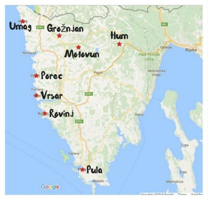 8-towns-in-Istria-map